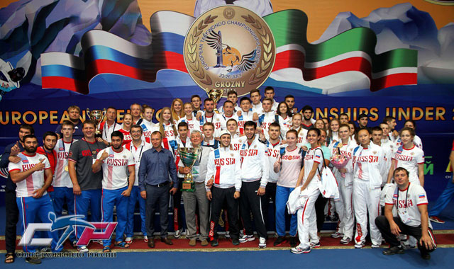 Russia Team Winners European Under21 20163