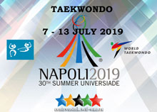 30th Summer Universiade in Napoli 2019